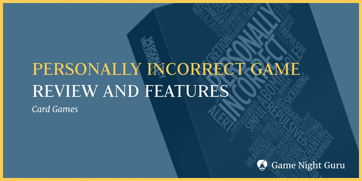 Personally Incorrect Game